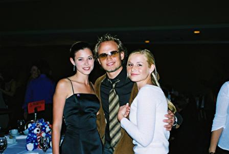 Jessica Dunphy, Peyton List (Lucy), and Craig Lawlor (ex-Adam)