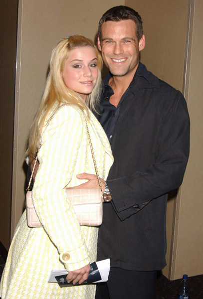 Jessica Dunphy and Grayson McCouch (Dusty) at the 'E5' Special Screening; November 29, 2004